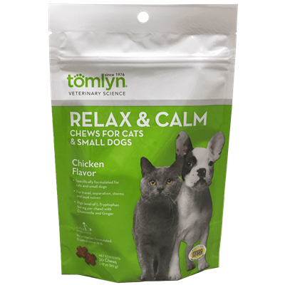 RELAX AND CALM CHEWS SM DOGS AND CATS 30