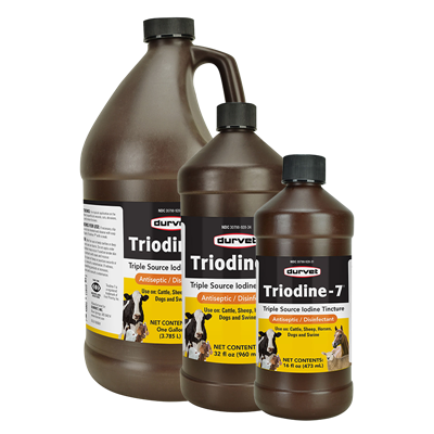 TRIODINE 7 32oz  W/O SPRAYER