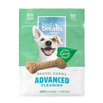 DENTAL CHEW ADVANCED SMALL 20ct