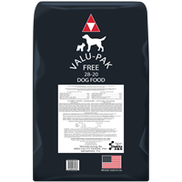 VALUPAK FREE BLACK BAG 28/20 50lb